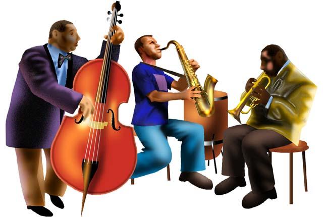 Jazz group clip art
