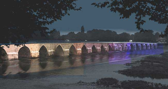 Beaugency bridge