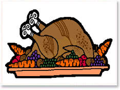 Clip art cooked turkey