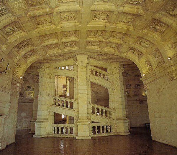 Chambord_escalier